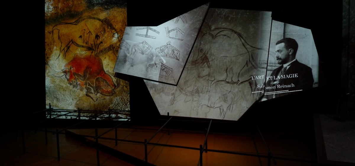 Spectacle immersif : théatre de l'art pariétal