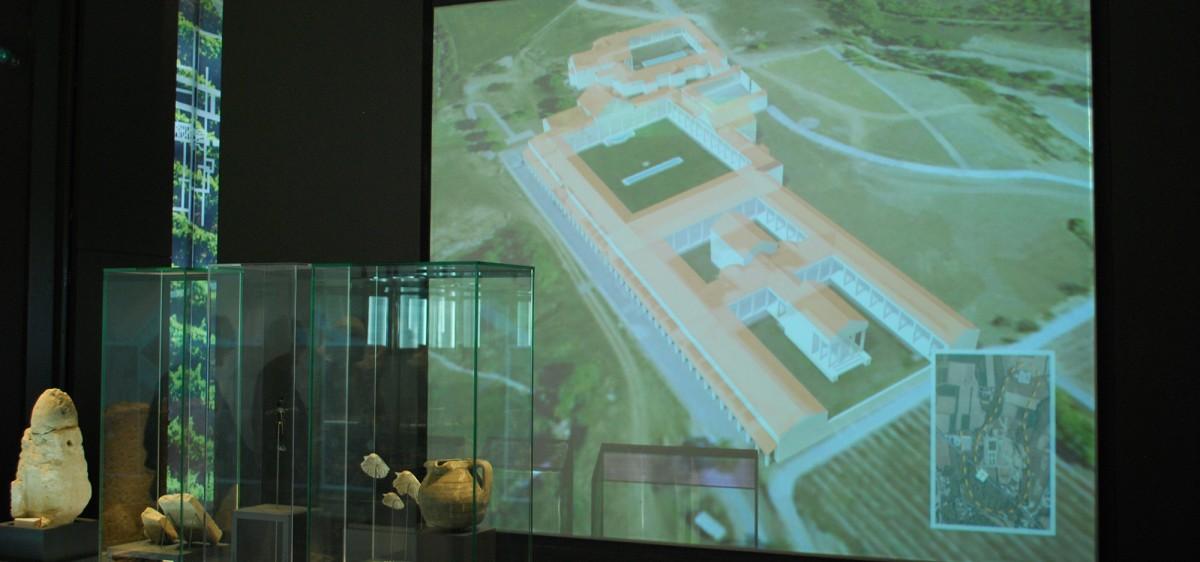 MuséAl Alba-la-Romaine, reconstitution 3D