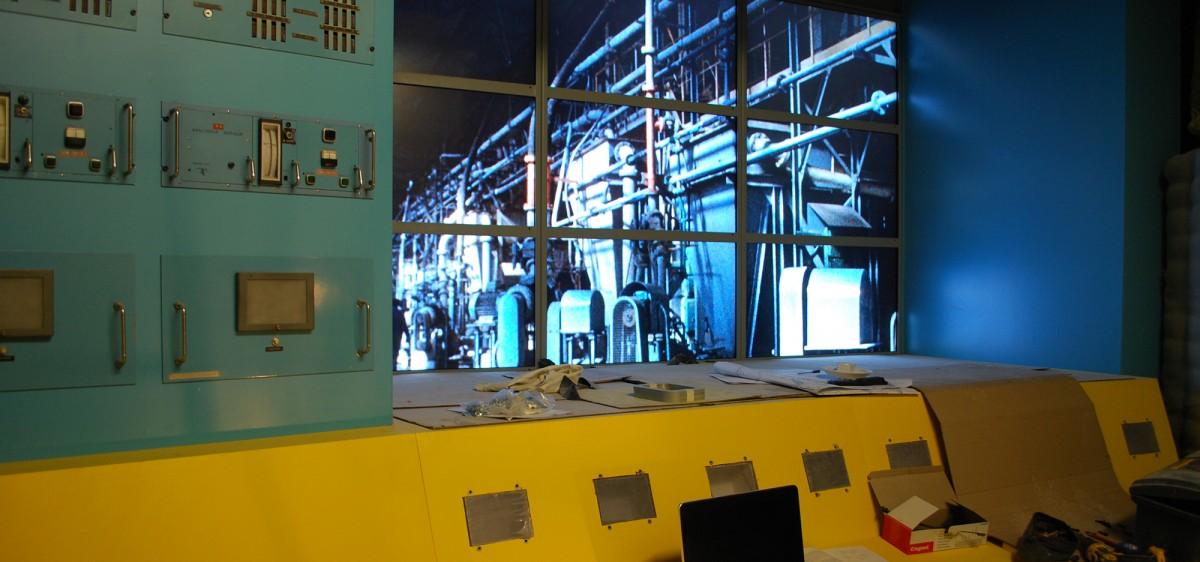 Film d'animation multi-écrans