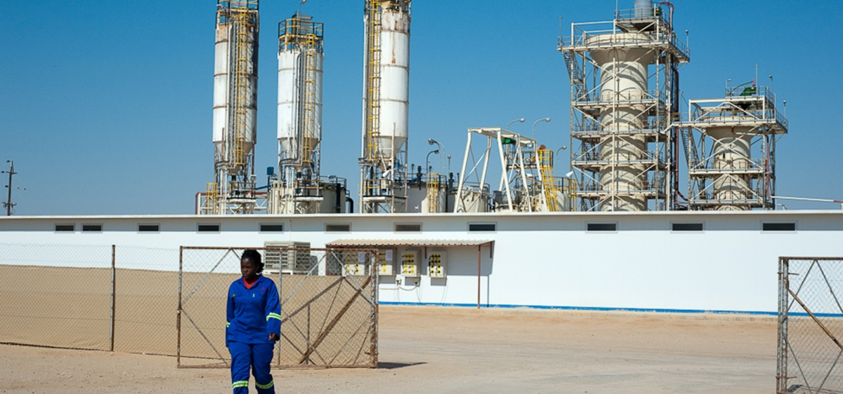 Module : Trekkopje, mine d'uranium en Namibie