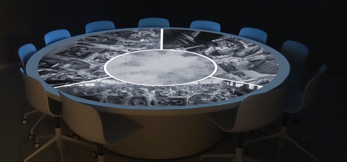 La projection circulaire sur la Bataille de Cambrai