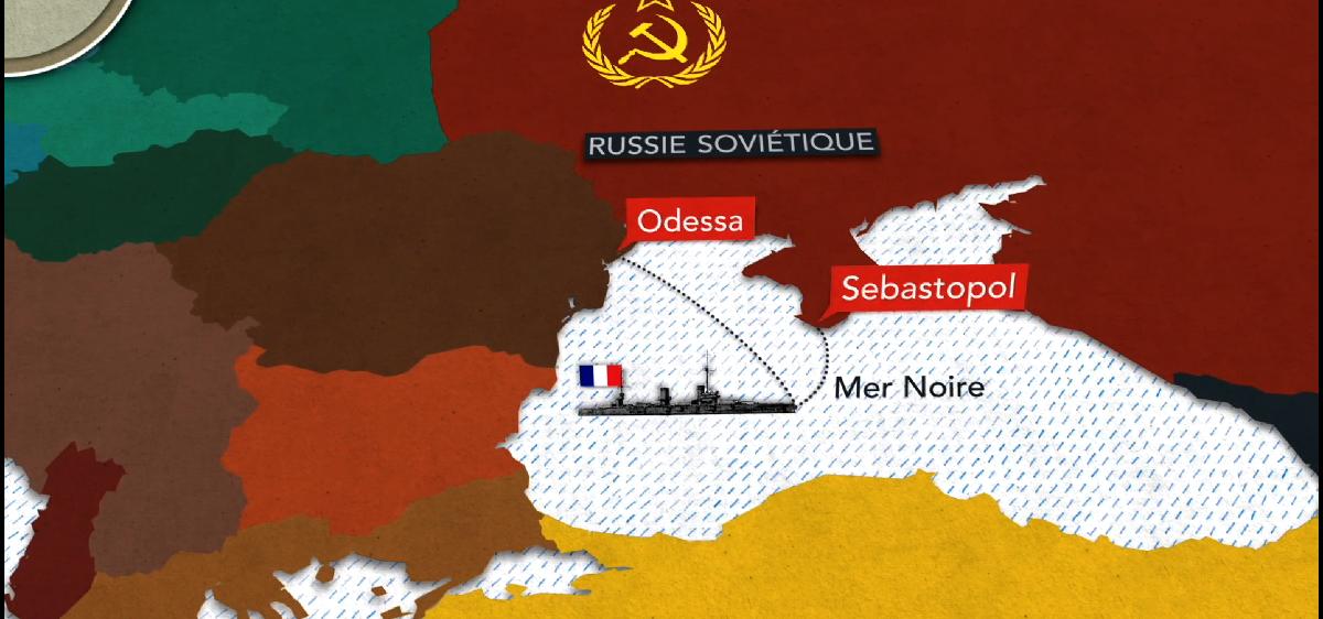 Cartographie animée :  les Balkans à l'orée de la Grande Guerre