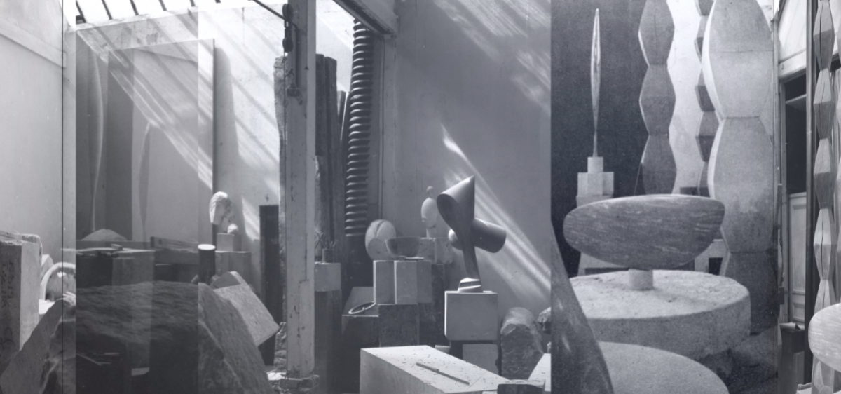 L'atelier de Brancusi - projection immersive