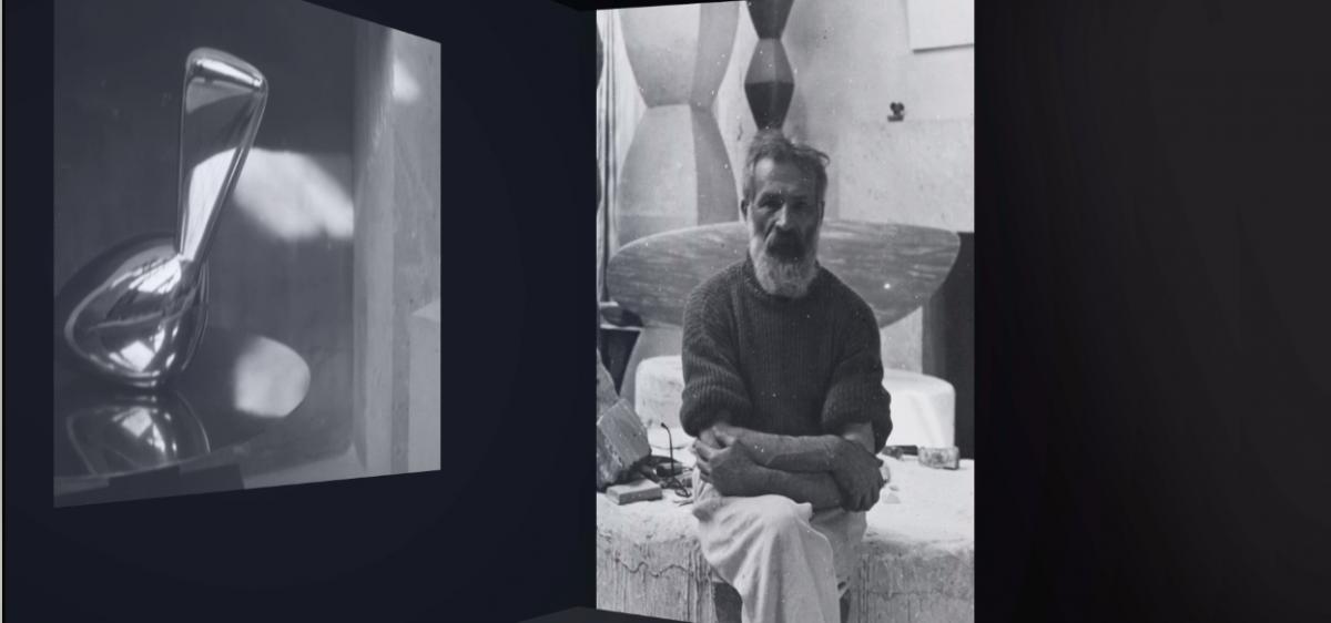 L'atelier de Brancusi - projection immersive