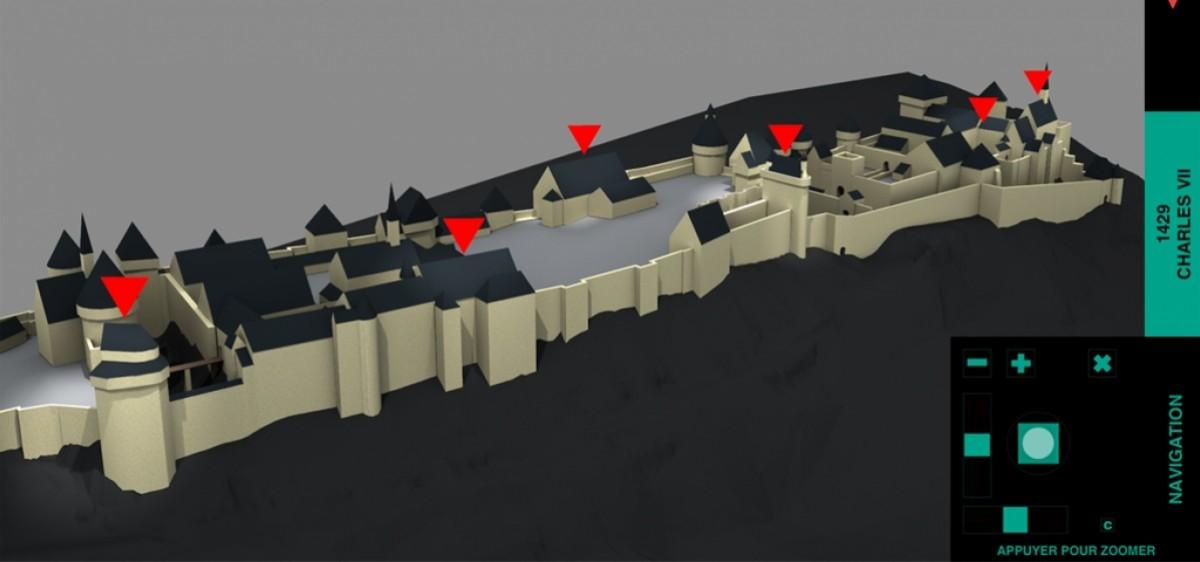 Modélisation 3D de la forteresse