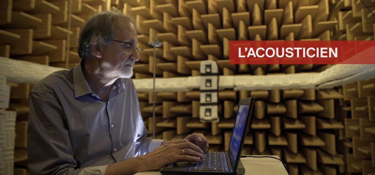 René Caussé, acousticien, Ircam
