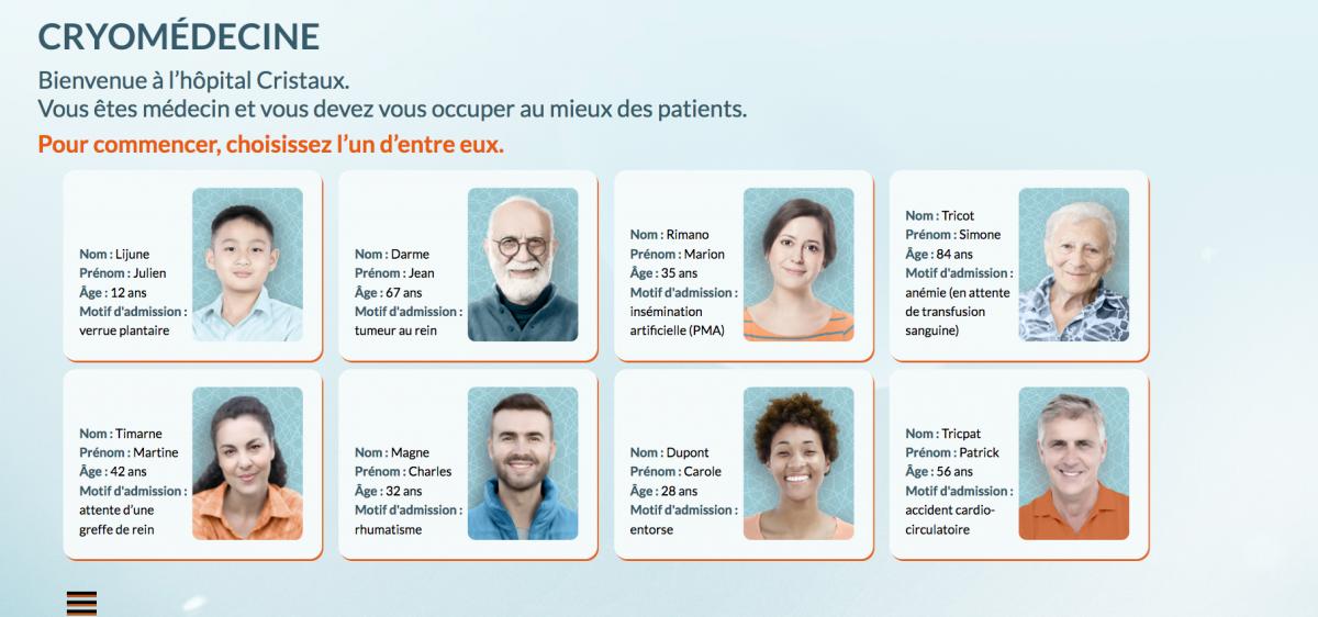 Multimedia 1 : froid et médecine