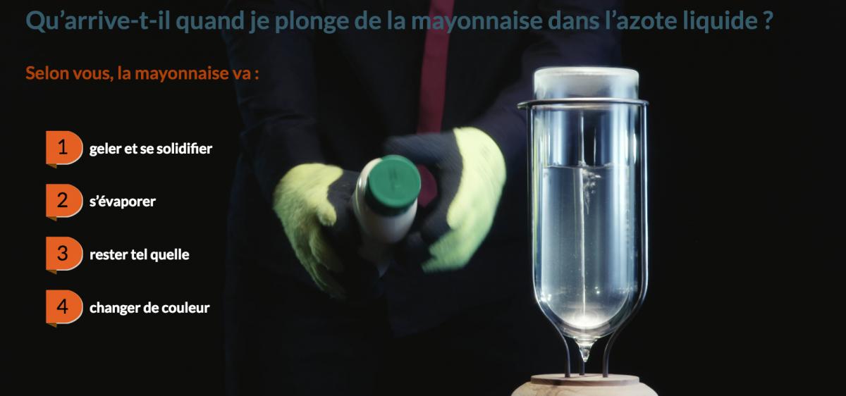 Multimedia 2 : quizz azote liquide