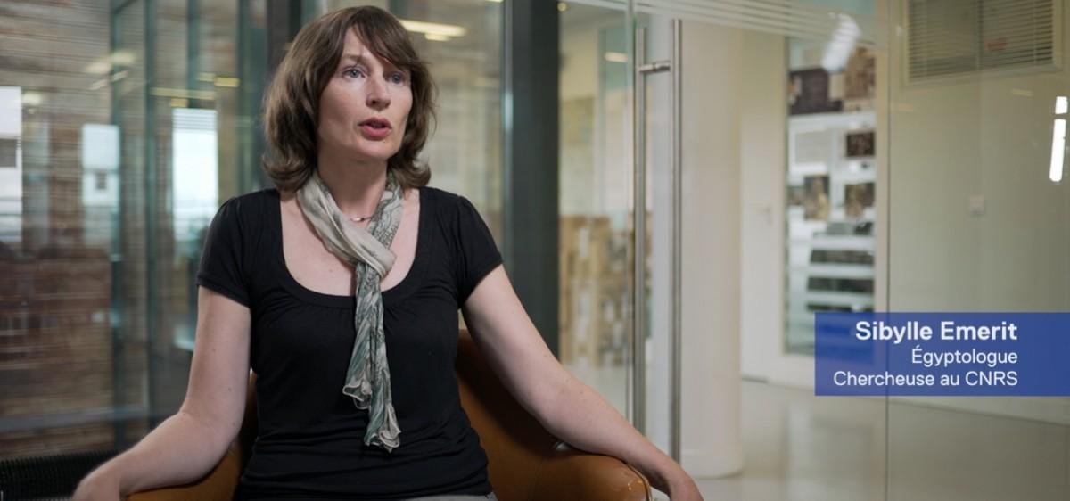 Harpe égyptienne, Sibylle Emerit, égyptologue