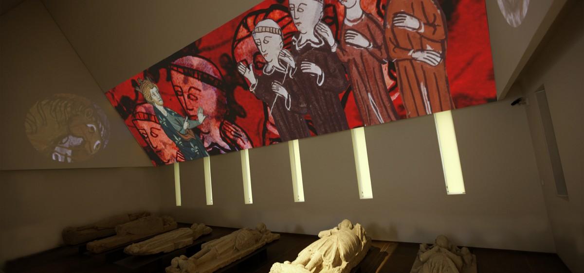 Musée d'archéologie et d'histoire du Mans, installation spectaculaire