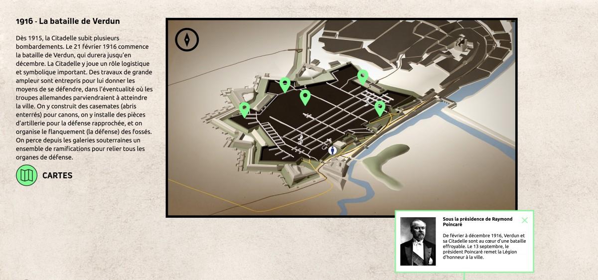 histoire de la citadelle