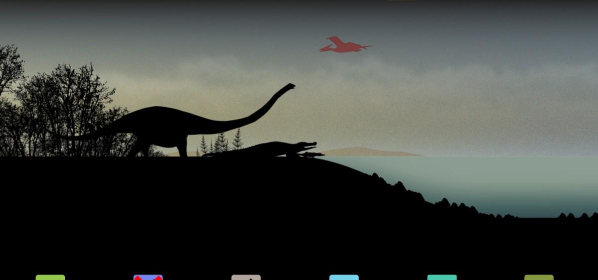 Expo temporaire : Dans l'ombre des dinosaures, MNHN
