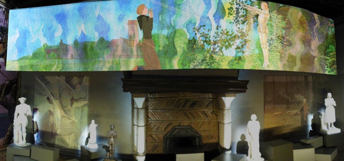 La Maison de Jeanne d'Arc, grande projection