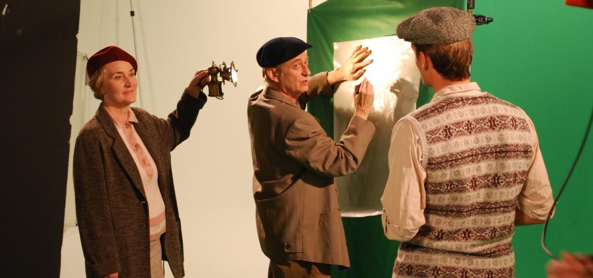 Le tournage du spectacle : le théatre de l'art pariétal