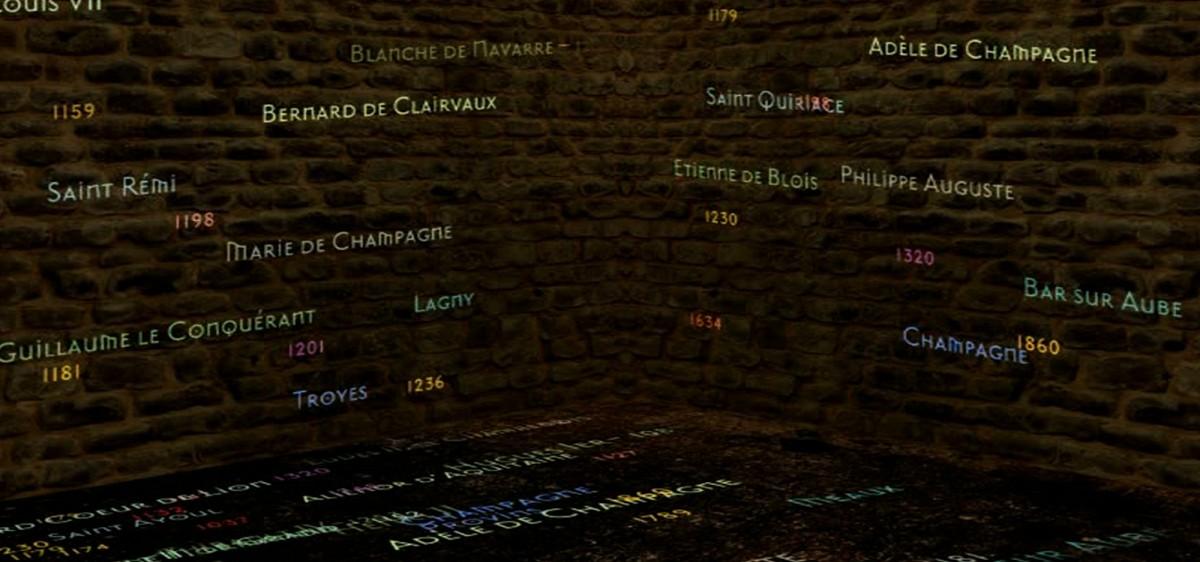 Tour César, Provins : Projections spectaculaires