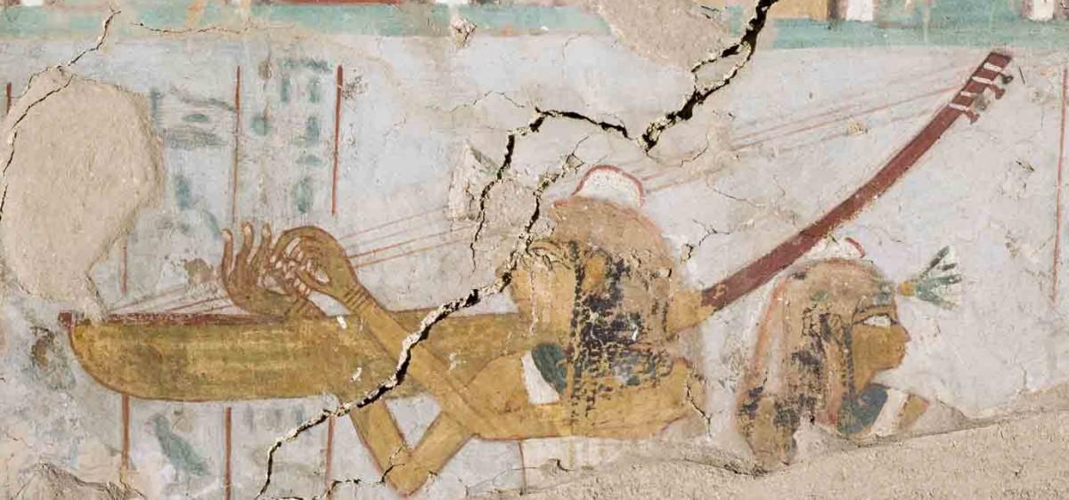 Harpe égyptienne