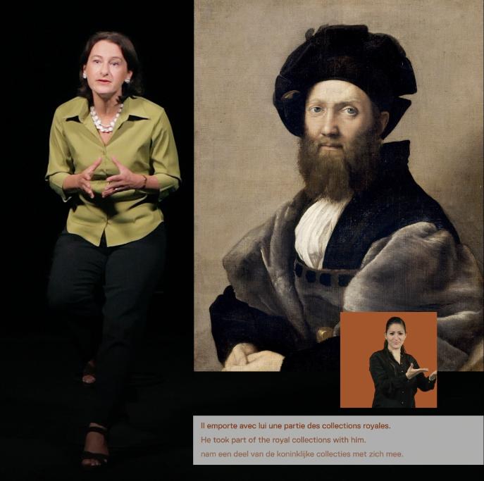 Grande projection Louvre-Lens, les métiers