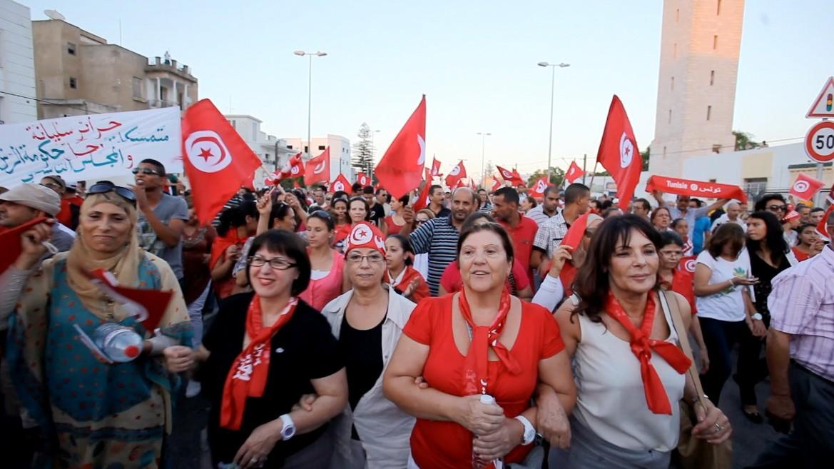 Aout 2013, manifestation des femmes, Tunis.jpg