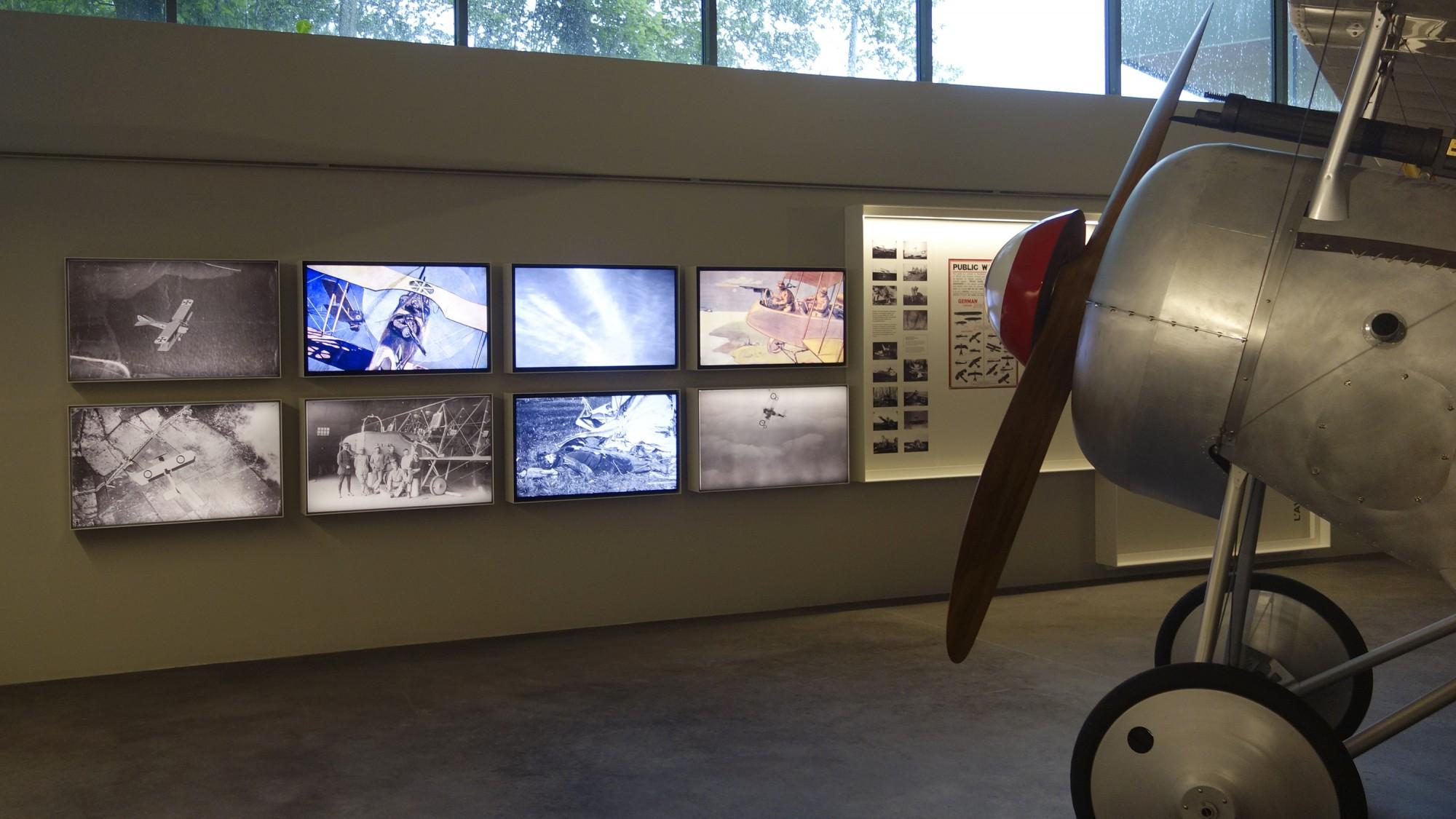 Historial de Thiepval - Installation