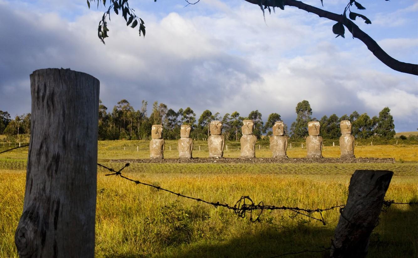 Rapanui l'histoire cachée de l'île de Pâques, Emmanuel Mauro et Stéphane Delorme